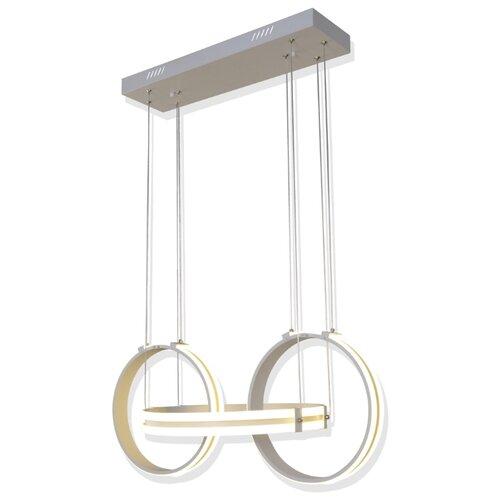 Светильник светодиодный Максисвет Геометрия 2-1716-mattWH Y LED, LED, 120 Вт люстра максисвет геометрия 1 1696 6 cr y led