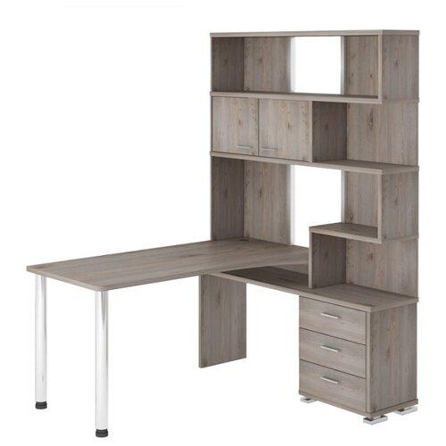 Компьютерный стол Мэрдэс Домино Нельсон СР-420, ШхГ: 130х150 см, угол: справа, цвет: нельсон