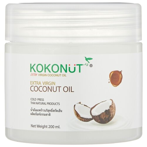 Масло для тела Twin Lotus Extra Premium Virgin Coconut Oil, банка, 200 мл free delivery nature s way efagold coconut oil pure extra virgin 454g
