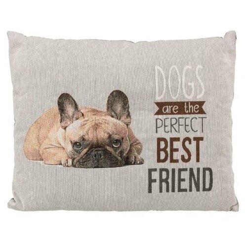 Лежак для собак и кошек TRIXIE Chipo 60х48 см французский бульдог