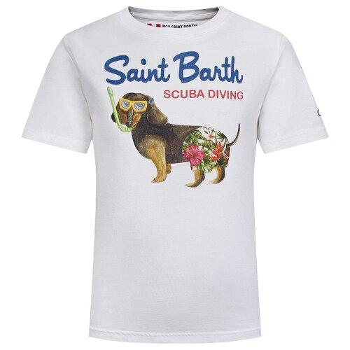 Фото - Футболка MC2 Saint Barth размер 104, белый футболка mc2 saint barth размер 128 белый