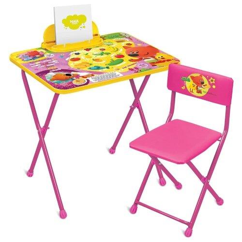 Купить Комплект Nika Ми-ми-мишки (ММ1/2) 60x45 см розовый/желтый, Парты и столы