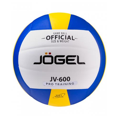 Волейбольный мяч Jogel JV-600 желтый/голубой