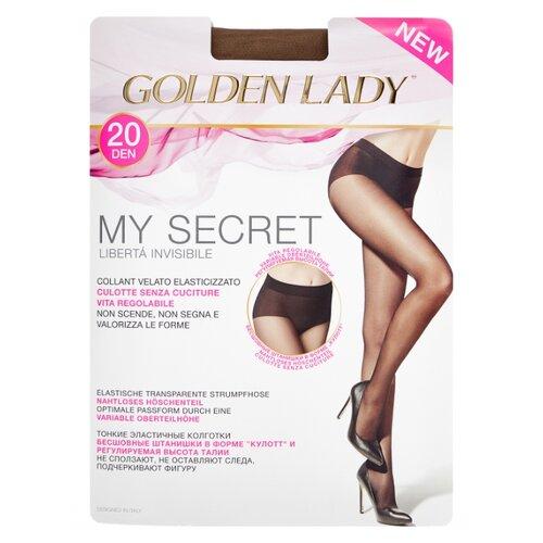 Колготки Golden Lady My Secret 20 den, размер 4-L, daino (бежевый) колготки golden lady leda 20 den размер 4 l daino бежевый