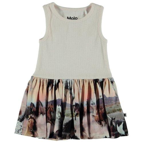 Платье Molo Como Wild Horses размер 92, 4183 wild horses
