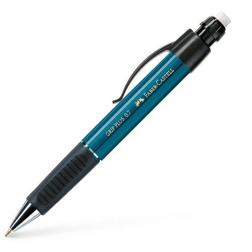Faber-Castell Механический карандаш Grip Plus 0, 7 мм, 1 шт. бирюзовый, Механические карандаши и грифели  - купить со скидкой