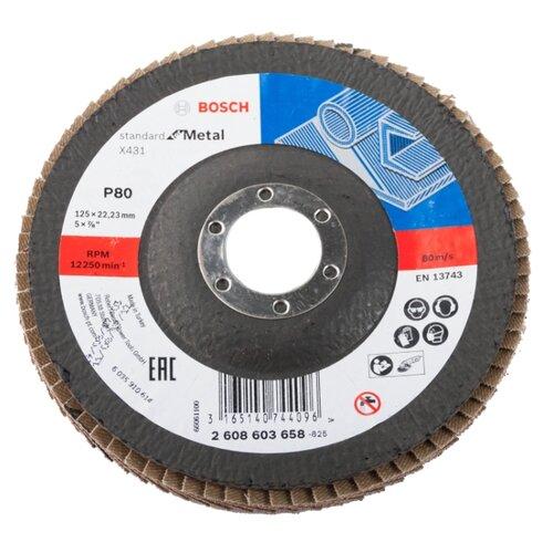 Лепестковый диск BOSCH Standard for Metal 2608603658
