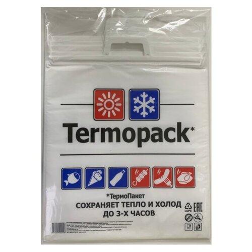 Пакеты для хранения продуктов ТерПак Termopack Эконом 42х45 см ТПК.02, 45 см х 42 см, 5 шт, белый