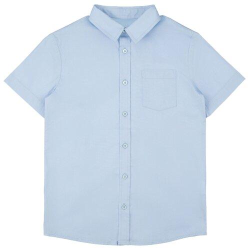 Рубашка INFUNT размер 164, голубой