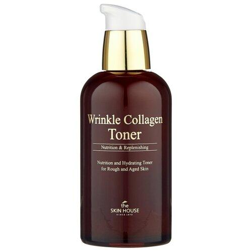 Тонер The Skin House Wrinkle Collagen 130 мл the skin house зеленая глиняная маска для сужения пор pore tightening clay pack 100 мл
