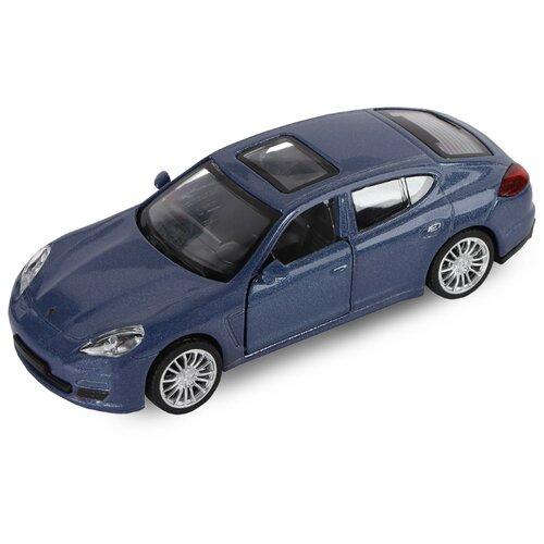 Купить Легковой автомобиль Автопанорама Porsche Panamera S (J12273/JB1200190) 1:43 11 см синий, Машинки и техника