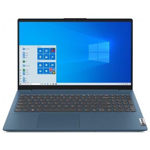 Ноутбук Lenovo IdeaPad 5 15IIL05 (Intel Core i3 1005G1 1200MHz/15.6/1920x1080/8GB/256GB SSD/DVD нет/Intel UHD Graphics/Wi-Fi/Bluetooth/DOS) 81YK001FRK light teal