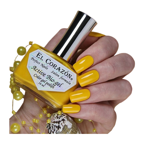 Гель El Corazon Active Bio-gel polish Cream, 16 мл, 423/349 chi luxury black seed oil curl defining cream gel