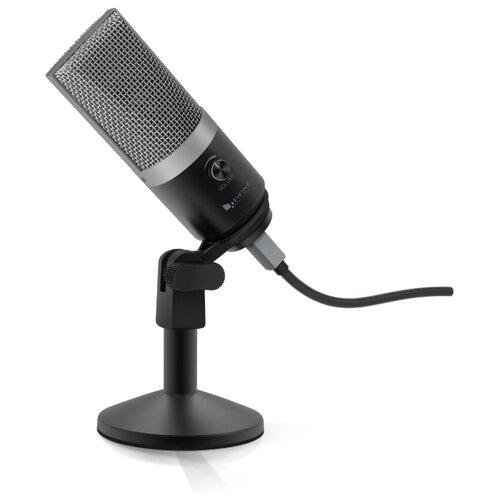 Микрофон Fifine K670, черный/серебристый