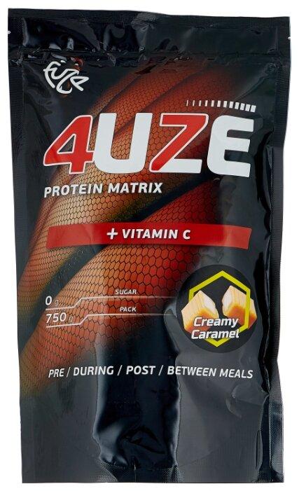 Купить Протеин Fuze Protein Matrix + Vitamin C (750 г) сливочная карамель по низкой цене с доставкой из Яндекс.Маркета (бывший Беру)