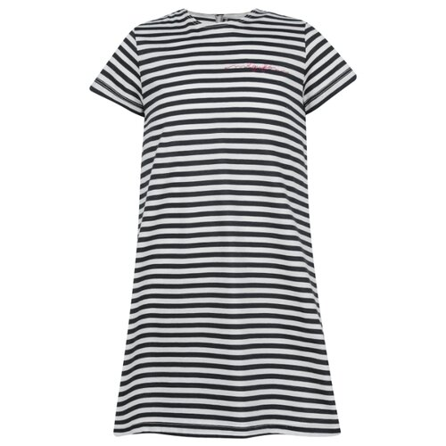 Платье Il Gufo размер 92, полоска/белый/синий