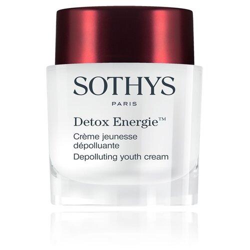 Sothys Detox Energie Depolluting Youth Cream Омолаживающий энергонасыщающий детокс-крем для лица, 50 мл недорого