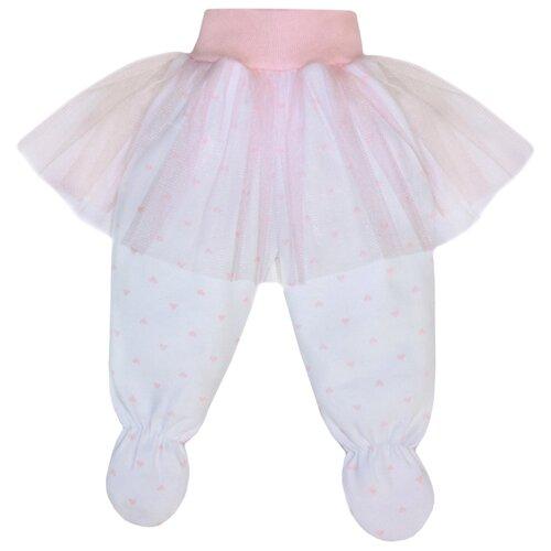 Ползунки Жанэт Балерина (ж738) размер 74, белыйПолзунки<br>