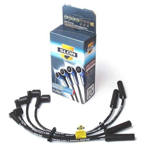 Комплект высоковольтных проводов системы зажигания SLON 2111-3707080