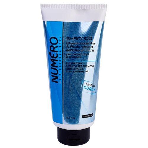 Numero шампунь Elasticizing & Frizz-Free для придания упругости вьющимся и волнистым волосам 300 мл