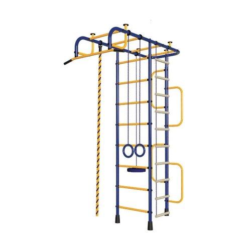 Спортивно-игровой комплекс Пионер 3М синий/желтый