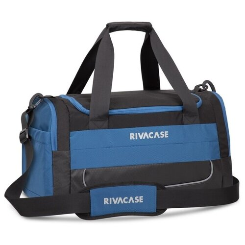 Сумка дорожная RIVACASE Mercantour 5235, black/blue