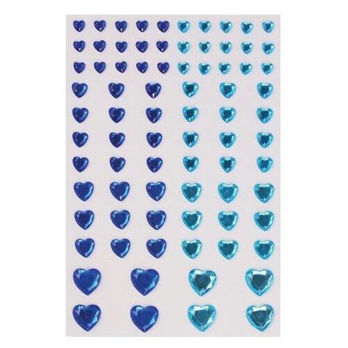 Фото - Остров сокровищ Стразы для декорирования Сердце (80 шт.) синий/голубой альт дневник остров сокровищ синий белый