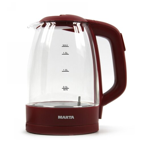Чайник MARTA MT-1099, бордовый гранат
