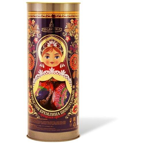 Набор конфет Кремлина Чернослив шоколадный с грецким орехом 250 г чернослив шоколадный кремлина самолет в резной деревянной шкатулке 400 г
