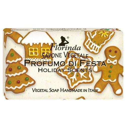 Мыло косметическое Florinda Новогоднее Волшебство Profumo Di Fiesta Праздничные ароматы, 100 г мыло косметическое mon platin dsm171