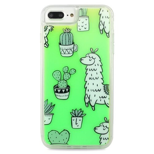 Чехол Pastila Neon Case для Apple iPhone 6 Plus/iPhone 7 Plus/iPhone 8 Plus ламы чехол pastila charm для apple iphone 6 plus iphone 7 plus iphone 8 plus бэби