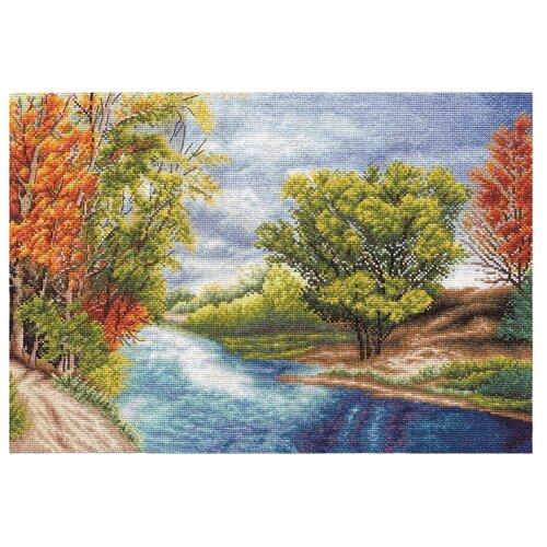 Купить PANNA Набор для вышивания Октябрь 37, 5 х 25 см (PS-1123), Наборы для вышивания