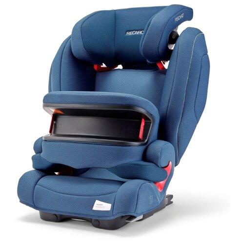 Фото - Автокресло группа 1/2/3 (9-36 кг) Recaro Monza Nova IS Seatfix, Prime Sky Blue автокресло группа 1 2 3 9 36 кг recaro young sport hero prime sky blue