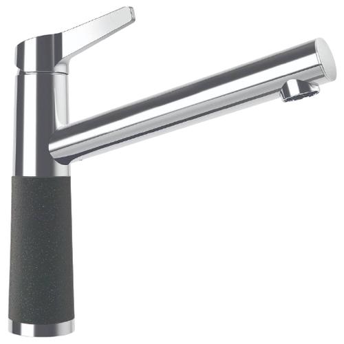 Смеситель для кухни (мойки) Schock SC-510 Cristadur однорычажный серебристый камень по цене 27 100