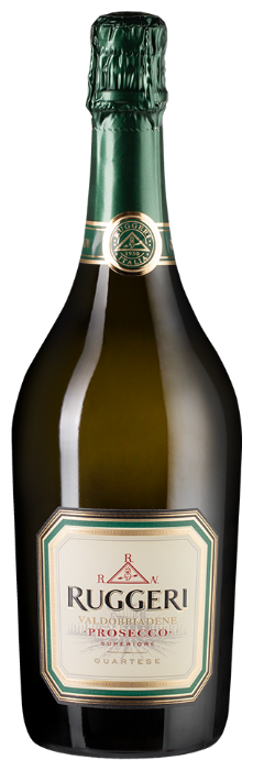 Игристое вино Ruggeri Prosecco Superiore Valdobbiadene Quartese Brut, 0.75л
