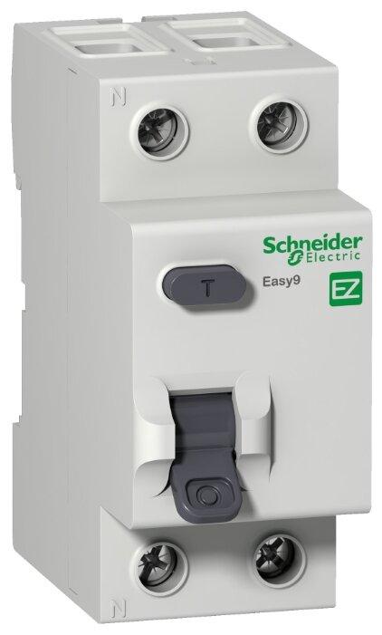 УЗО Schneider Electric 100 мА тип AC EZ9R542 2 полюса