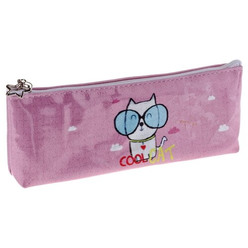 Купить ArtSpace Пенал Cool cat (Tn_19753) розовый, Пеналы