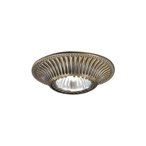 Встраиваемый светильник Reccagni Angelo Rosa spot 1078 bronzo встраиваемый светильник reccagni angelo spot 1082 oro