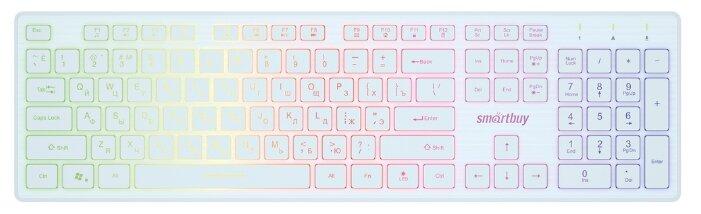 Клавиатура SmartBuy ONE SBK-305U-W White — купить по выгодной цене на Яндекс.Маркете