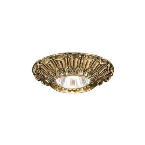 Встраиваемый светильник Reccagni Angelo Rosa spot 1077 oro подсветка для картин reccagni angelo a1000 2 oro