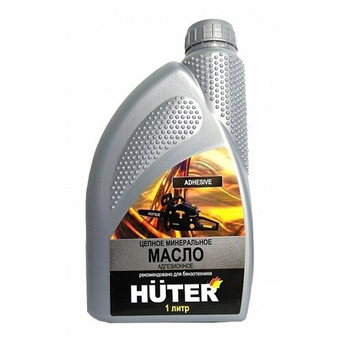 цена на Масло для смазки цепи Huter минеральное 1 л