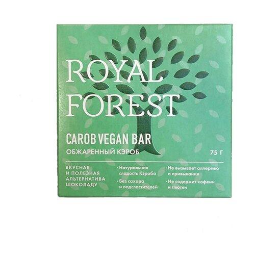 Фото - Шоколад ROYAL FOREST Веганский из обжаренного кэроба, 75 г шоколад royal forest молочный из обжаренного кэроба 75 г