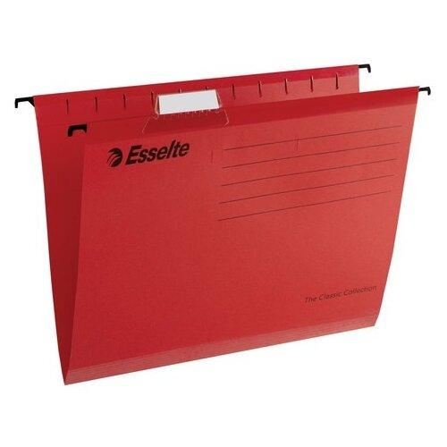 Купить Esselte Папка подвесная Classic А4, картон, 25 шт красный, Файлы и папки