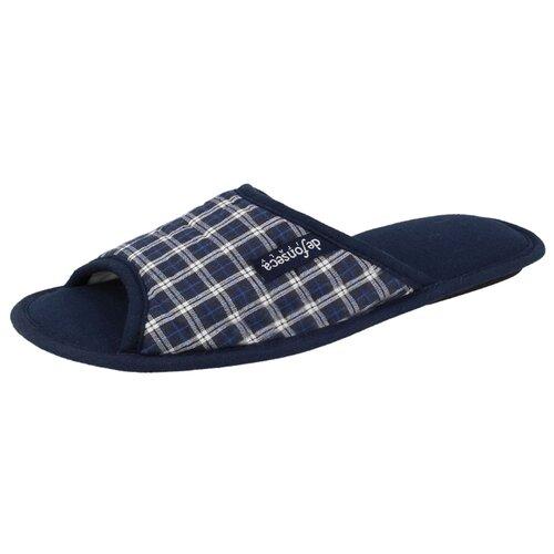 Тапочки Bari Top M505R2 De Fonseca синий 42/43 (De Fonseca)Домашняя обувь<br>