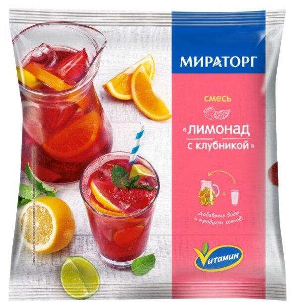 Мираторг Смесь для лимонада с клубникой 250 г