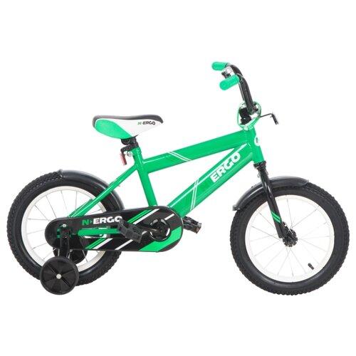 Детский велосипед N.Ergo ВН14217 зеленый (требует финальной сборки)