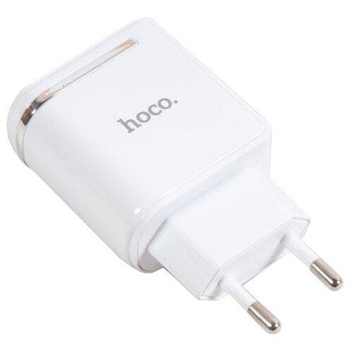 Сетевая зарядка Hoco C39A белый