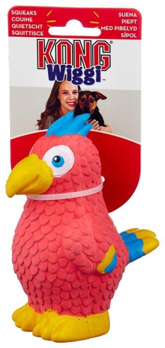 Игрушка для собак KONG Wiggi Попугай малый (TLB33E)