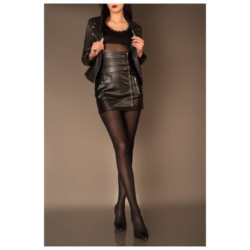 Livia Corsetti Облегающие женские колготки Meris с мелким узором, черный, 3 размер