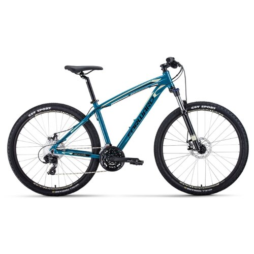 цена на Горный (MTB) велосипед FORWARD Next 27.5 2.0 Disc (2020) зеленый/бежевый 19